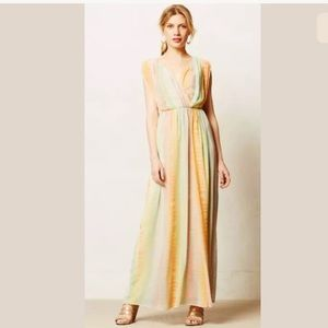 Anthropologie Lil Petites maxi dress
